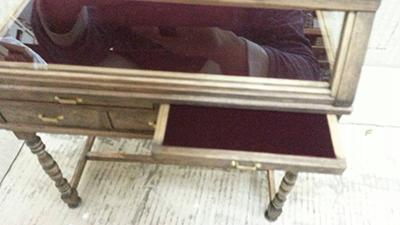 セパレート式ショウケース/KentStudioミニチュア家具
