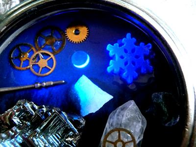 時計の中の銀河/雪の結晶/きらら舎