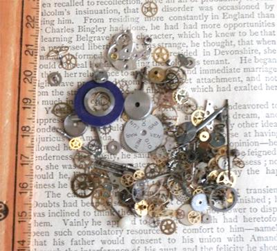 時計の部品箱/きらら舎