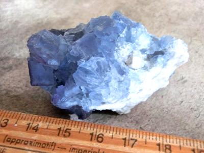 母岩付きビンガム蛍石/きらら舎