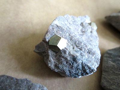 母岩付き十二面体黄鉄鉱/きらら舎