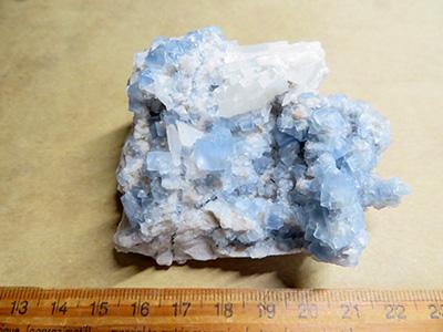 ビンガム母岩付き蛍石/きらら舎