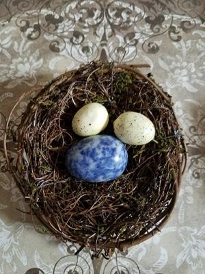 ラピスラズリ卵型/きらら舎