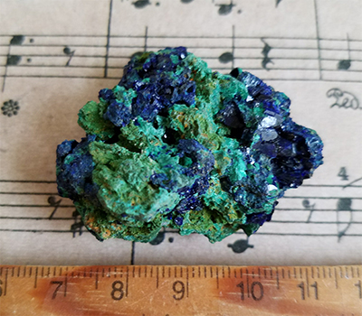 藍銅鉱/きらら舎