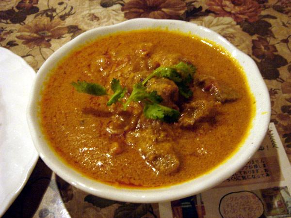 チキンカレー[インド家庭料理 ナンディ]