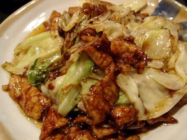 選べるランチ(回鍋肉)[恵比寿亭]