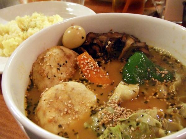 スープカレー/豆腐ハンバーグカリー[CooDoo]