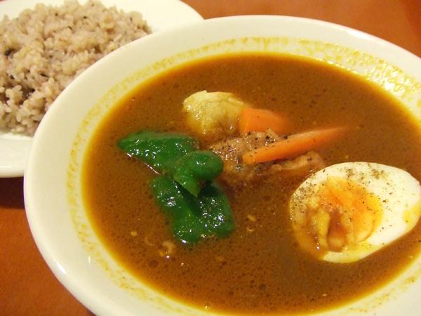 スープカレー/チキンソテー[Curry Cafe Terra Merita テラメリタ]