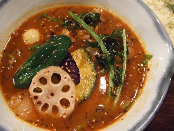 スープカレー/とろとろポークと野菜のカリィ[路地裏カリー侍]�