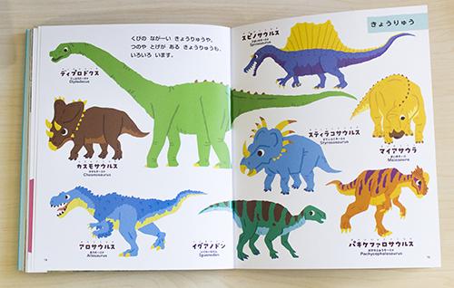 恐竜イラスト紙面02
