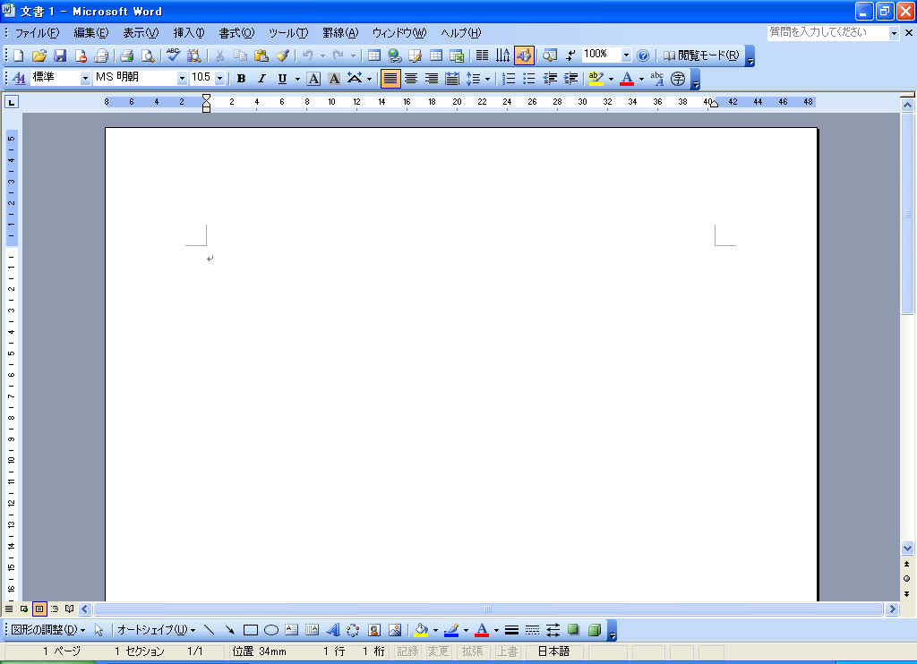 Office Word 2003