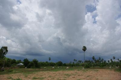 黒雲が来るー!