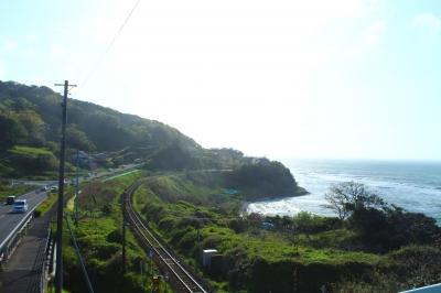 見どころ!島根県 多伎町 歩道橋より撮影