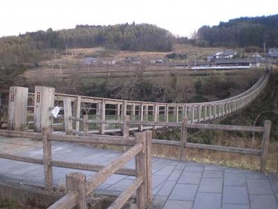 滝見の吊り橋