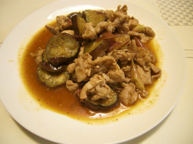 豚と夏野菜の焼き肉のたれ炒め