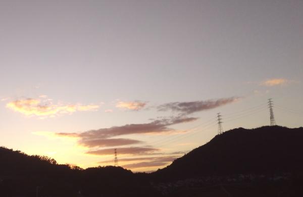 らせん状の雲