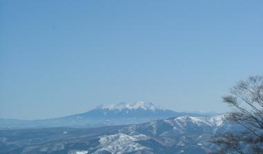 お〜絶景!御岳山だ!