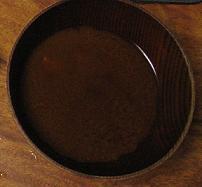一応、カメノテ入味噌汁