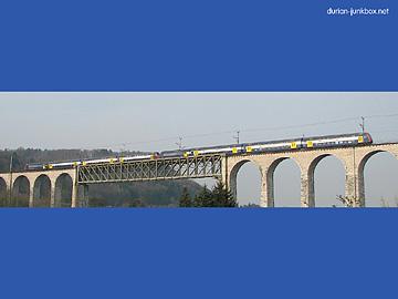 ライン川に架かる橋