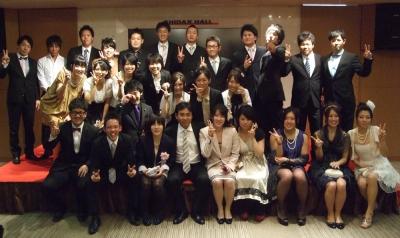 H23卒業生送別会