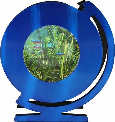 地球儀ブルー