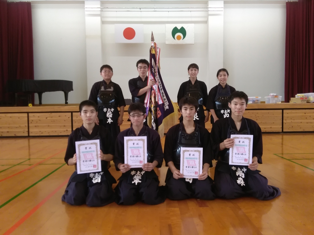 b525113da53 代表男子の部 優勝 塚本くん 準優勝 雨森くん 3位 豊田くん・内田くん