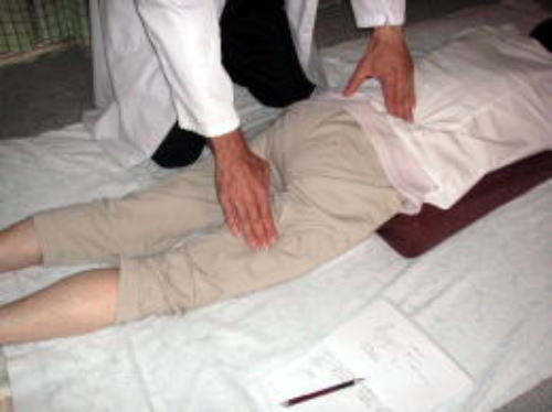 身体負担をかけない経絡指圧整体