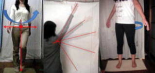 人体の姿勢や動作を分析して整体