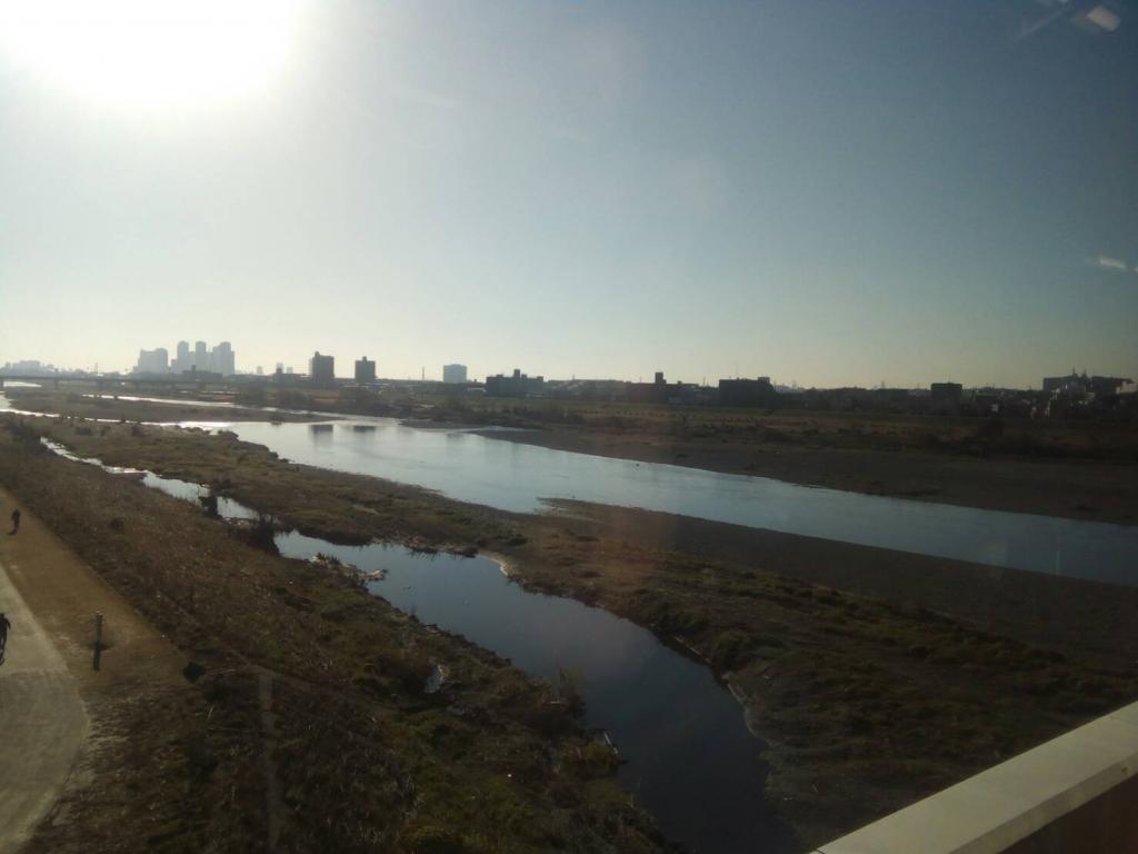 横浜市青葉区への出張整体で見た玉川