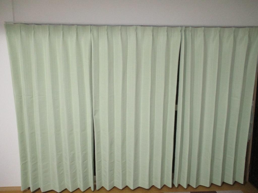 事務所のカーテン