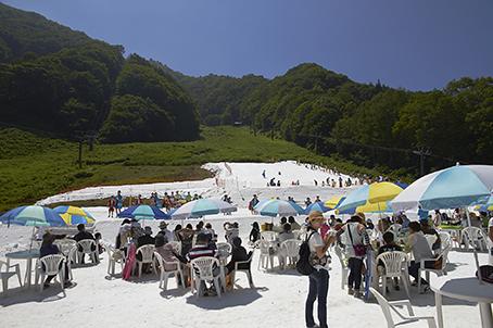 【体験レポート】檜枝岐村 第23回真夏の雪まつり   今日の奥会津