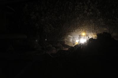 奥会津、雪の日の朝