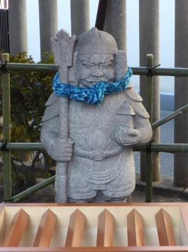 八幡神社毘沙門天