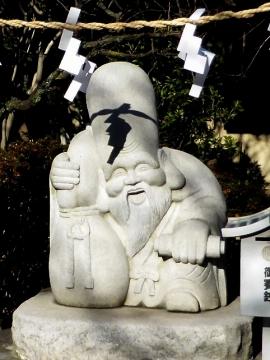 稲荷神社福禄寿