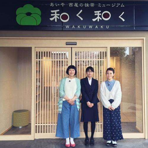 たんぽぽ川村さんと福田彩乃さんがご来館