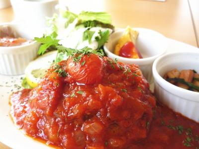 トマトソースがまた美味しい!!