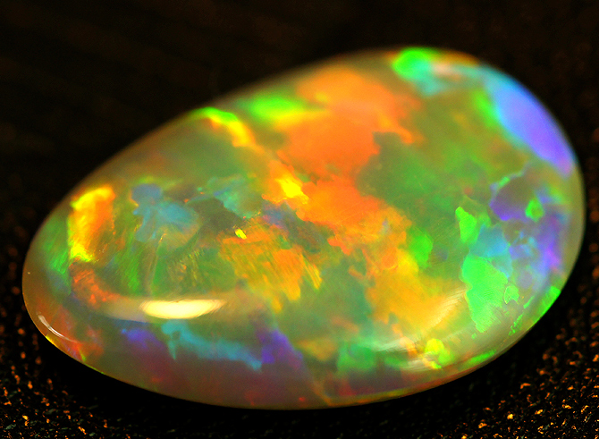 DOUBLE SIDED DIFFARENT FACE BLACK OPAL