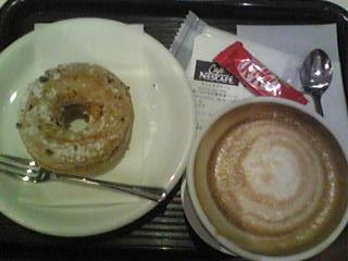カフェネスカフェで食べたメニュー