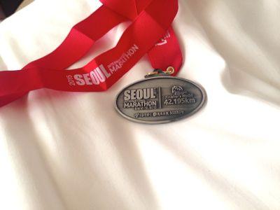 完走者がもらえるメダル