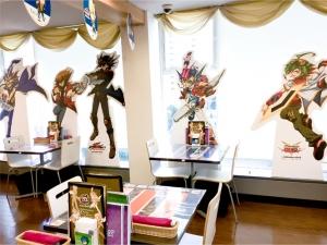 アニメイトカフェ遊戯王コラボ