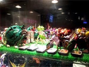 仮面ライダー・ザ・ダイナー 展示 鎧武
