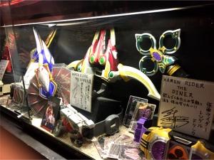 仮面ライダー・ザ・ダイナー 展示 剣