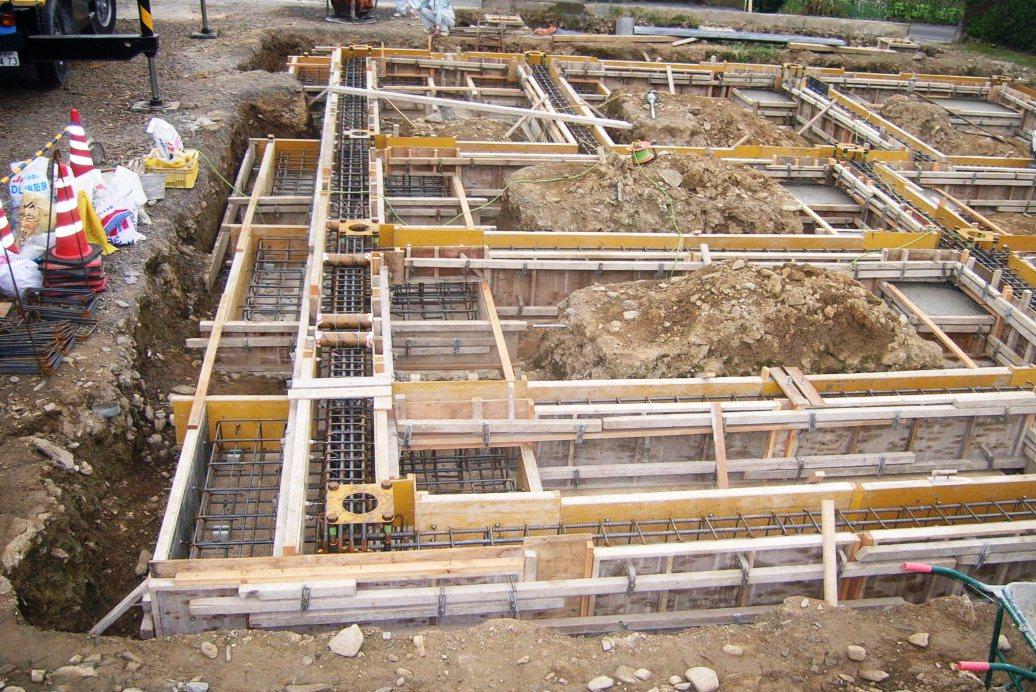 基礎コンクリート型枠