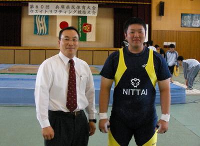 久保先生と東根選手