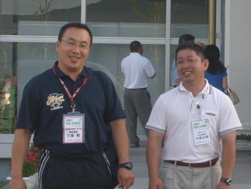 久保先生と小高先生