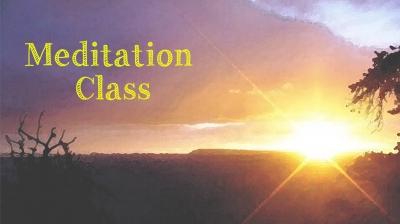 メディテーション クラス