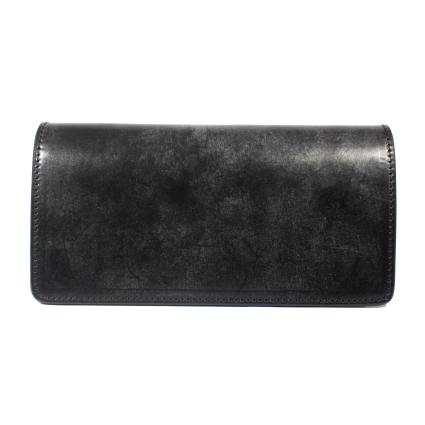 ADDICT CLOTHES NEW VINTAGE(アディクトクローズ)|UK BRIDLE LEATHER LONG WALLET(BLK)AD-W-01S