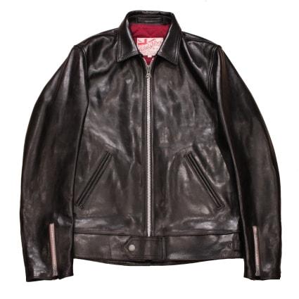 ADDICT CLOTHES NEW VINTAGE(アディクトクローズ)|ホースハイドセンタージップジャケット