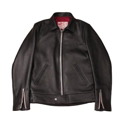 ADDICT CLOTHES NEW VINTAGE(アディクトクローズ)|シープスキンセンタージップジャケット