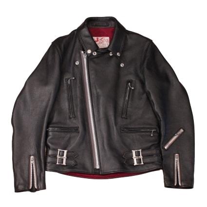 ADDICT CLOTHES NEW VINTAGE(アディクトクローズ)|シープスキンダブルライダースジャケット